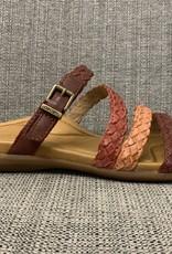 Aetrex Brielle sandal Red
