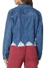 Liverpool Classic jacket shredded hem