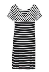 S/s crewneck dress