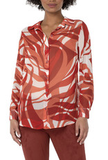 Liverpool Abstract wave tunic