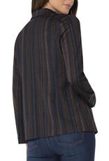 Liverpool Fitted blazer stripe