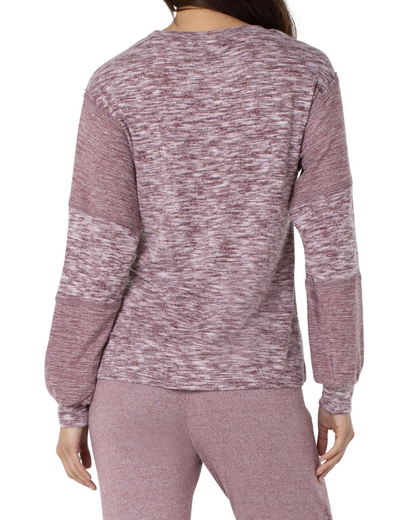 Liverpool Mauve heather pullover