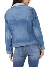 Liverpool Trucker jacket knit insert