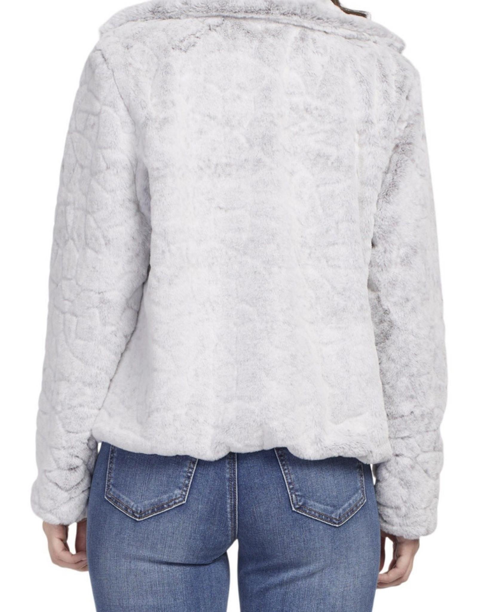 Silver snuggle jacket