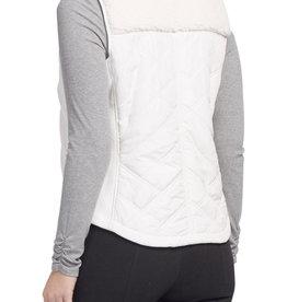 Quilted vest Cream