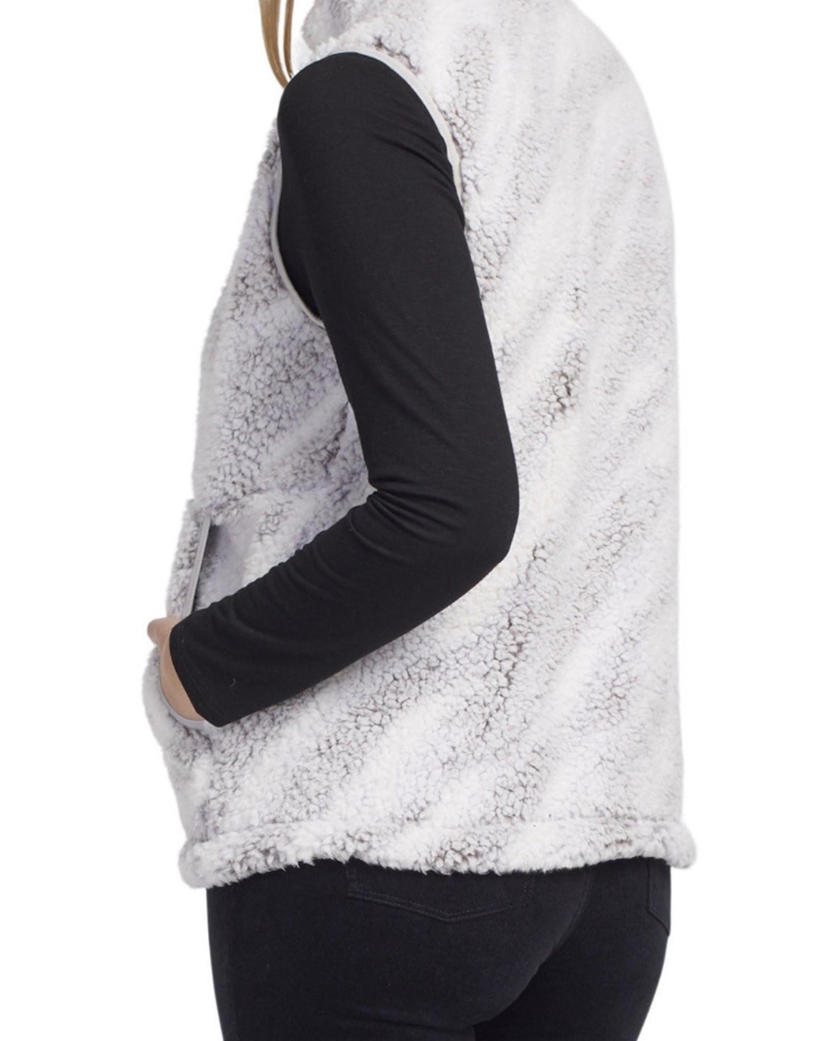 Cozy vest Grey