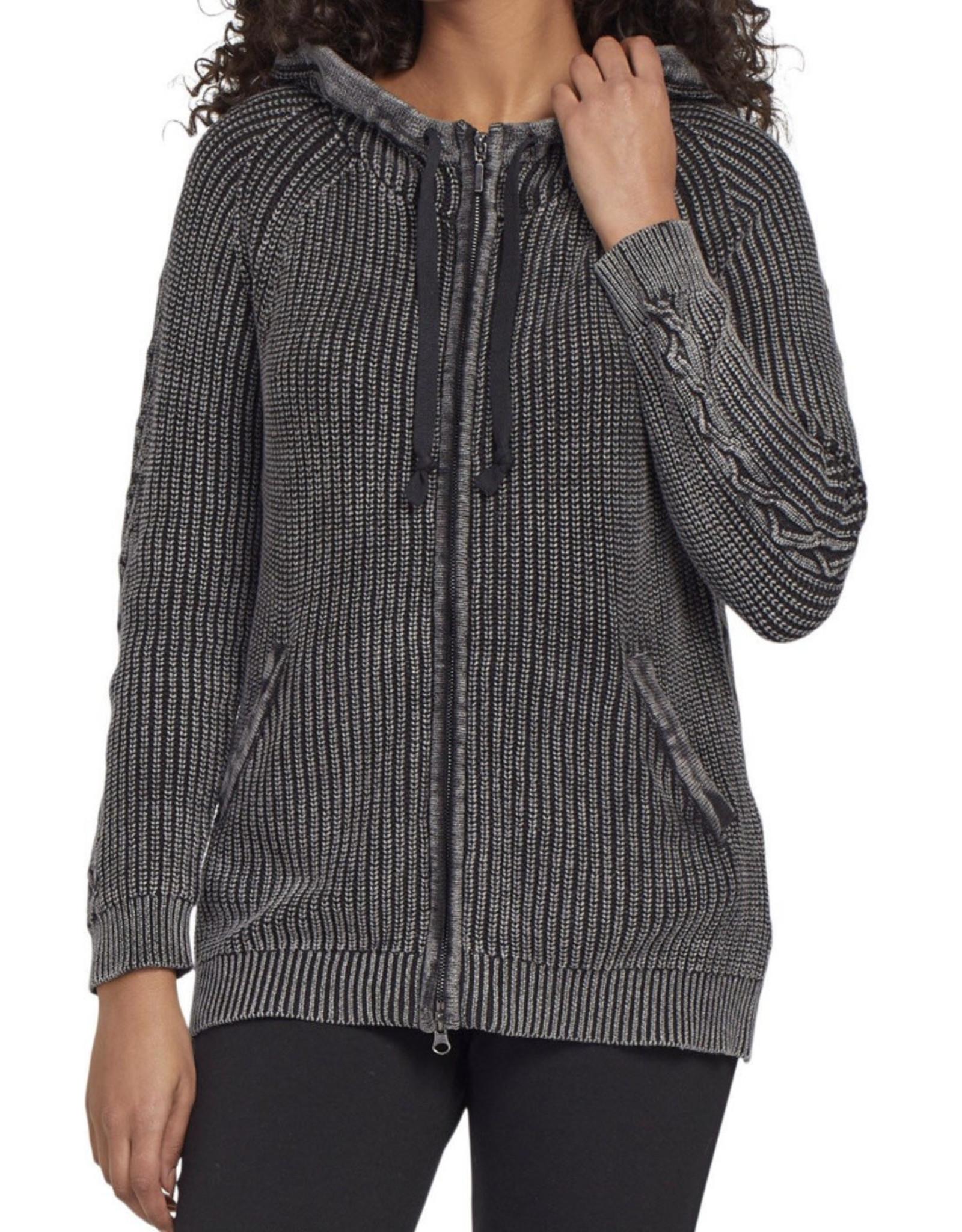 Zip hoodie Charcoal