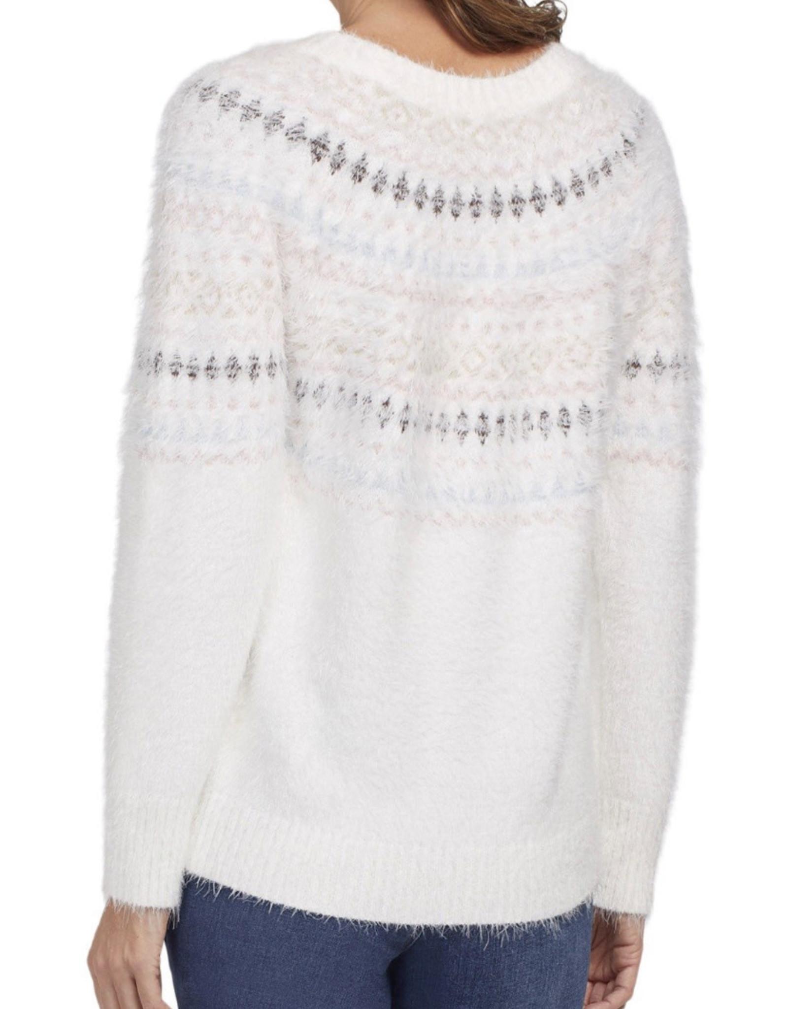 Fair Isle sweater Eggshell