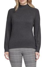 Mockneck sweater Charcoal
