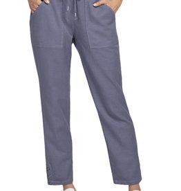 Pull-on ankle pant Steel Blue