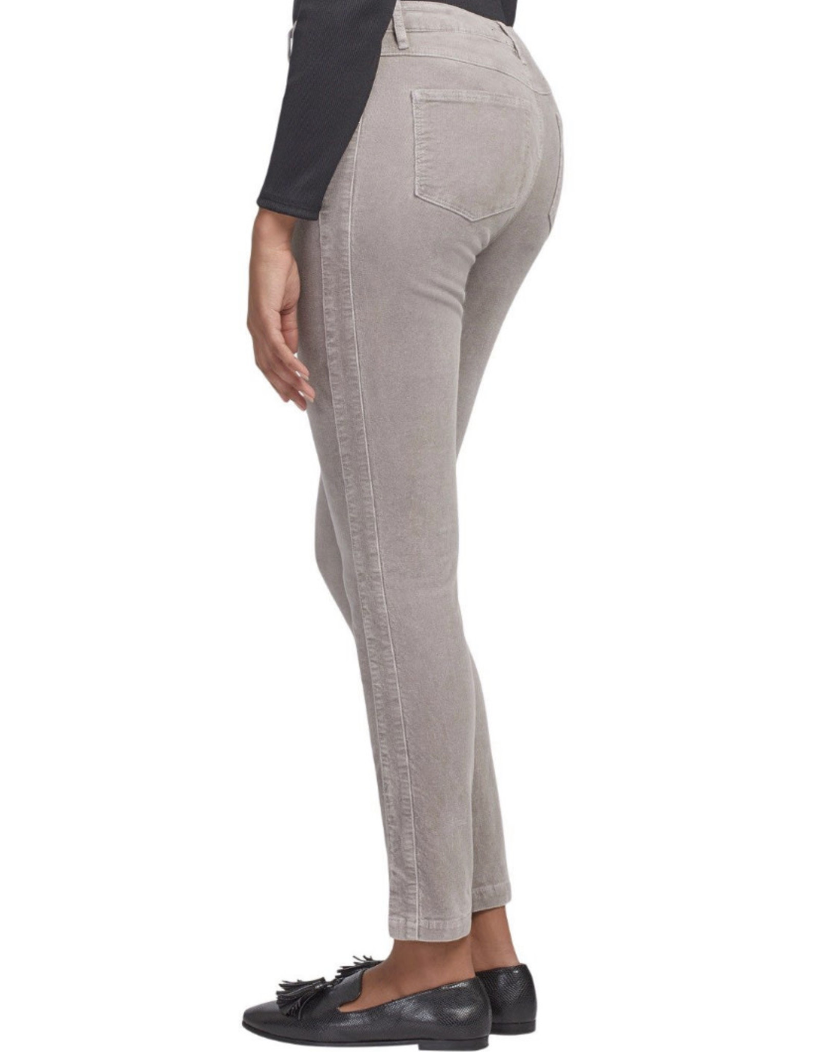 Pull-on ankle pant Silver