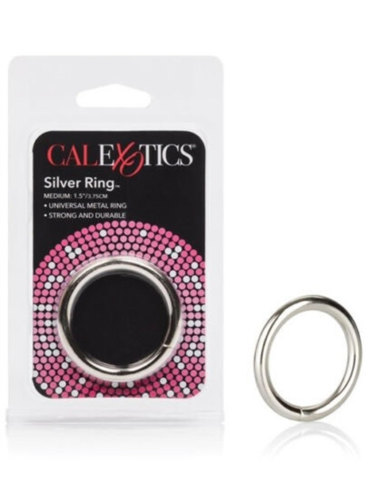 CALEXOTICS CALEXOTICS - SILVER RING - MEDIUM