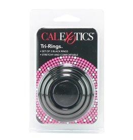 CALEXOTICS CALEXOTICS - TRI RINGS SET - BLACK