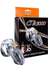 "CB-X CB-X 3000 MALE CHASTITY DEVICE - 3"" CLEAR"