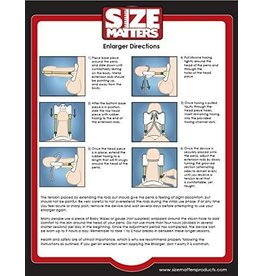 SIZE MATTERS - PENIS ENLARGER