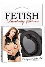 FETISH FANTASY - DESIGNER CUFFS - BLACK
