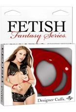 FETISH FANTASY FETISH FANTASY - DESIGNER CUFFS - RED