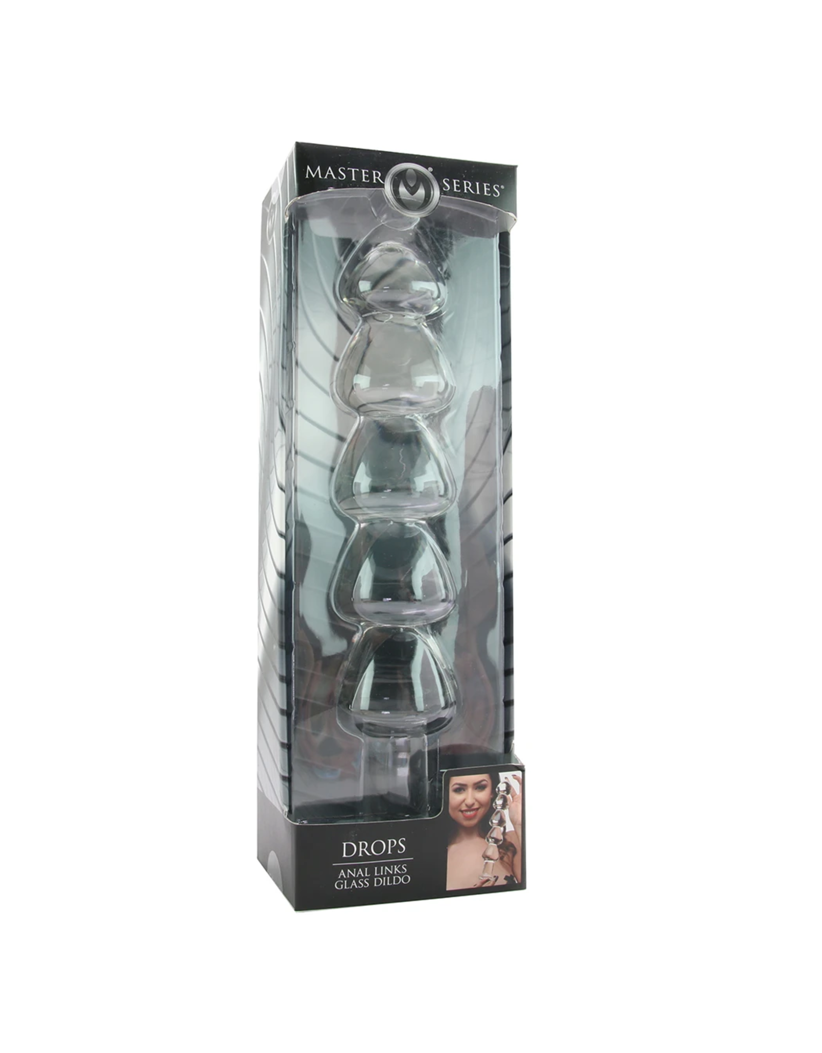 MASTER SERIES - DROPS ANAL LINKS - GLASS