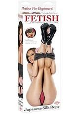 FETISH FANTASY - JAPANESE SILK ROPE - BLACK