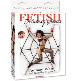 FETISH FANTASY - SPIDER WEB BED RESTRAINT