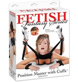 FETISH FANTASY FETISH FANTASY - POSITION MASTER W/CUFFS