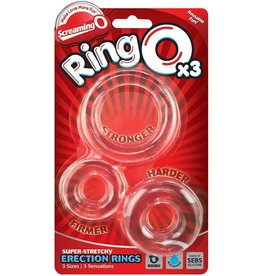 SCREAMING O - RING O x 3 - CLEAR