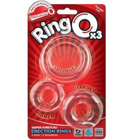 SCREAMING O SCREAMING O - RING O x 3 - CLEAR
