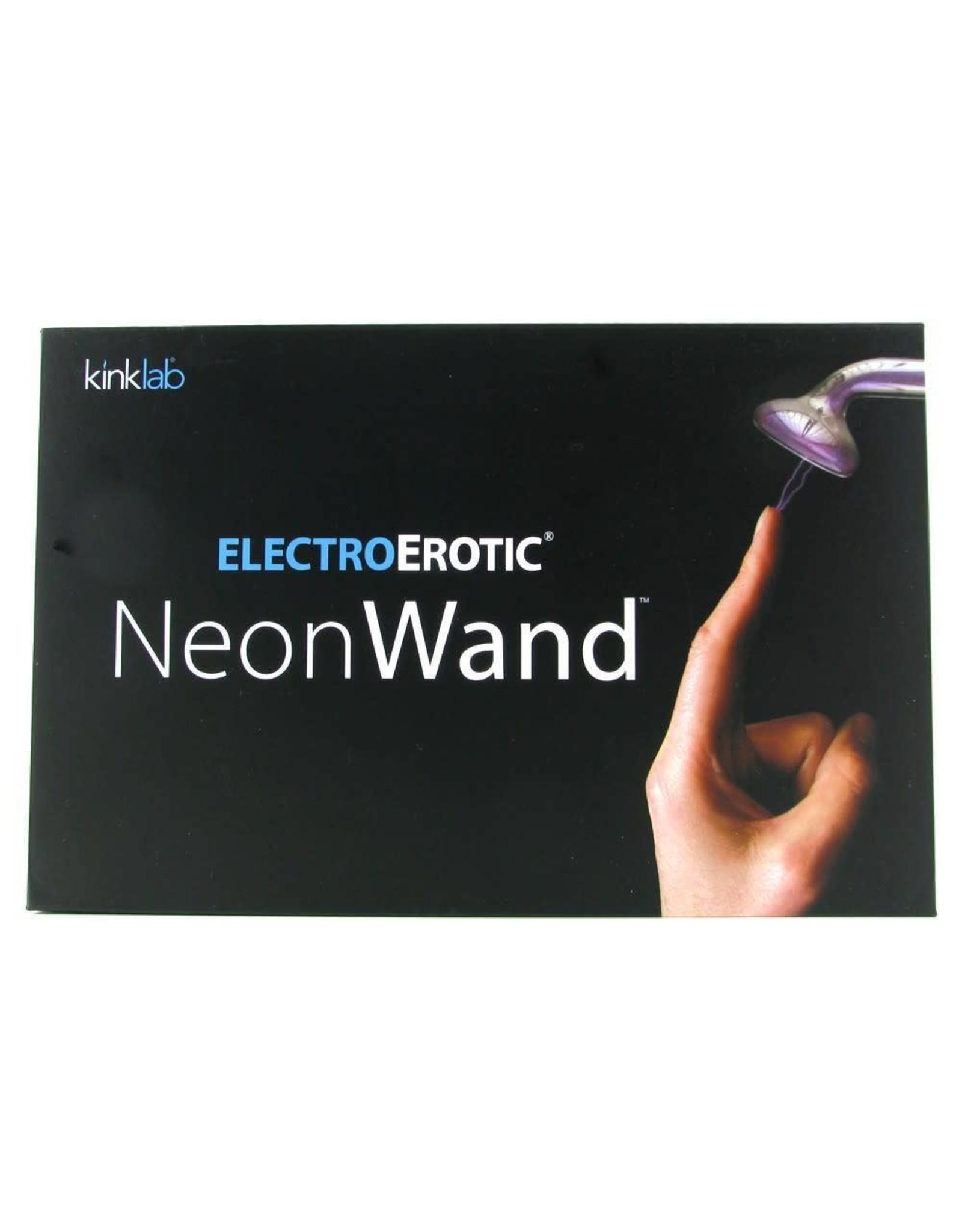 KINKLAB - ELECTRO-EROTIC NEON WAND - RED