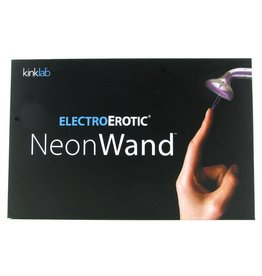 KINKLAB - ELECTRO-EROTIC NEON WAND - RED