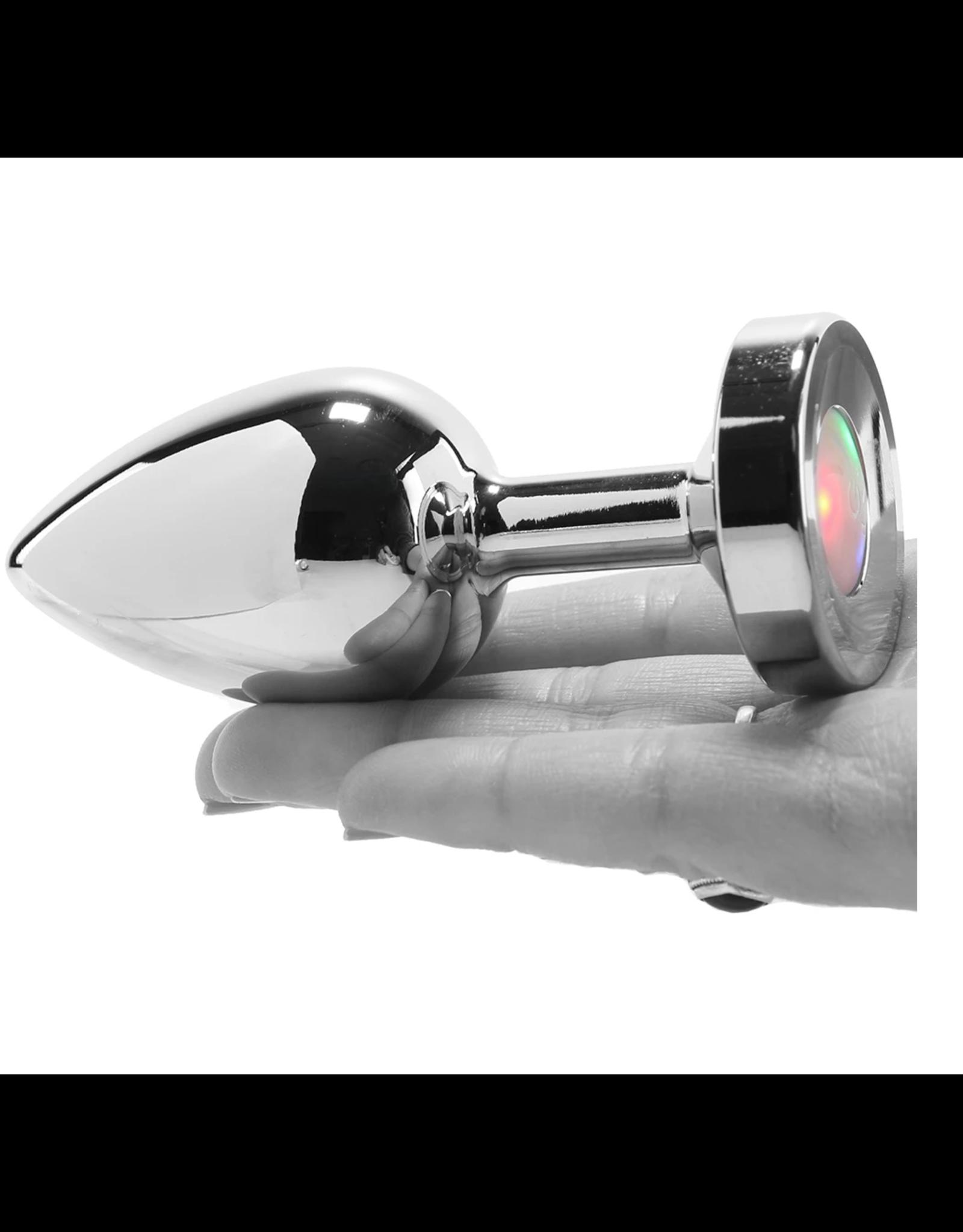 BOOTY SPARKS - LIGHT UP ANAL PLUG - LARGE