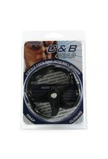 C&B GEAR - V-STYLE COCK RING WITH BALL DIVIDER