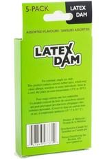 LATEX DENTAL DAM x5