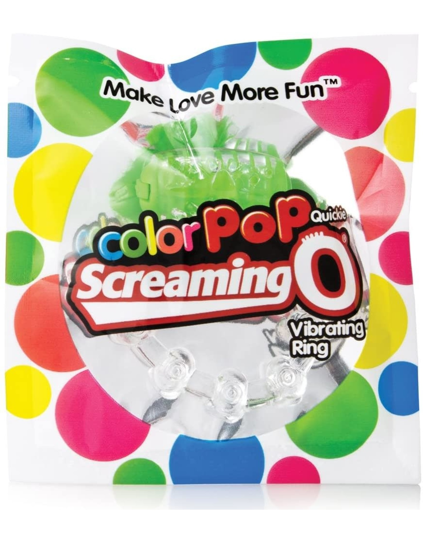 SCREAMING'O - COLORPOP QUICKIE - GREEN