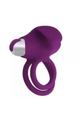 PLEASE - ASTONISH RECHARGEABLE COCK RING - PURPLE