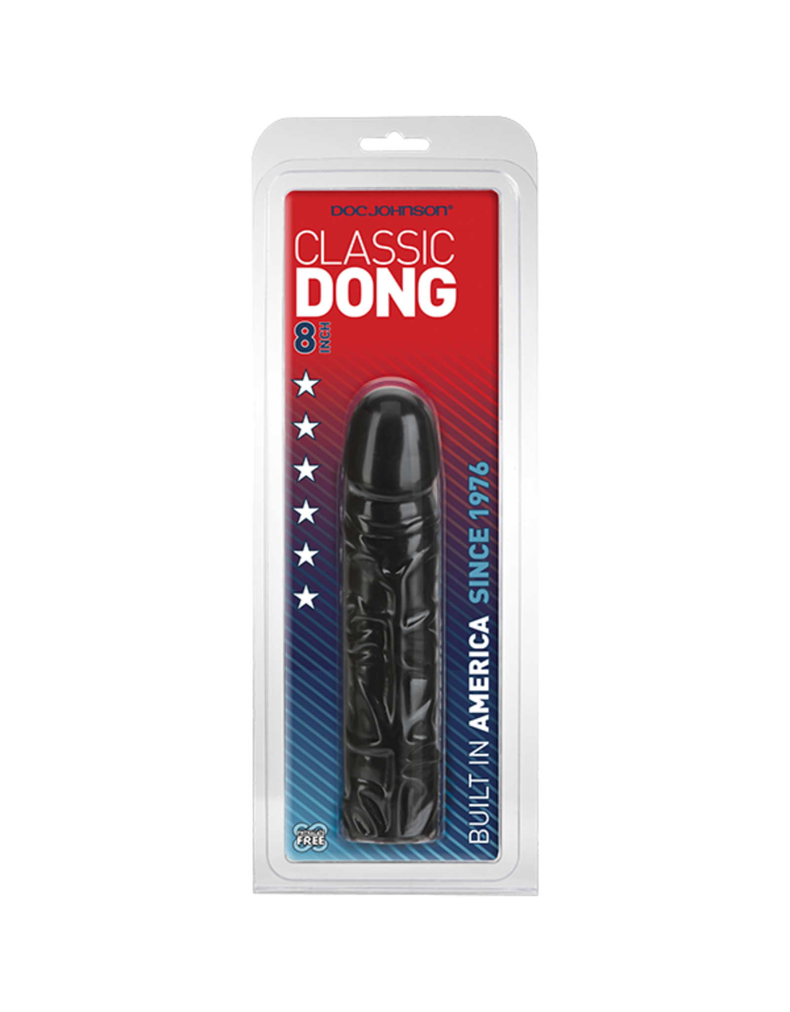 "CLASSIC 8"" DONG - BLACK"