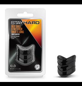 BLUSH BLUSH - STAY HARD - BEEF BALL STRETCHER SNUG X-LONG - BLACK