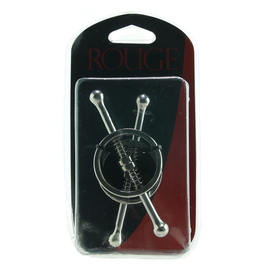 ROUGE - STAINLESS STEEL SPRING LOADED NIPPLE CLAMPS