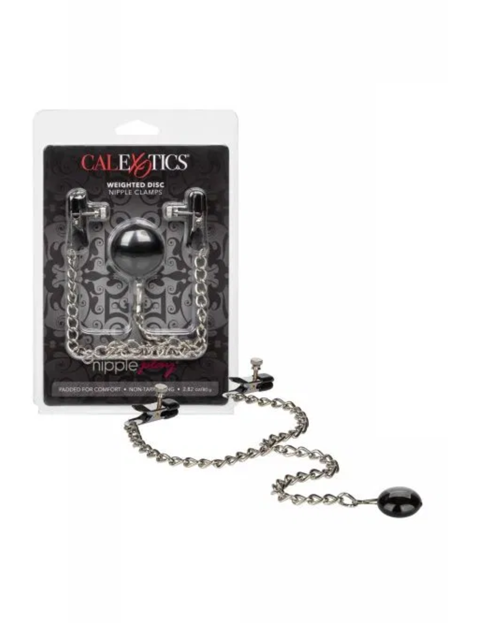 NIPPLE PLAY - WEIGHTED DISC NIPPLE CLAMPS