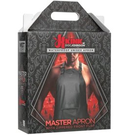 KINK - WET WORKS MASTER APRON WITH ZIPPERED FLAP