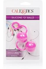 "CALEXOTICS - POSH - SILICONE ""O"" BALLS - PINK"
