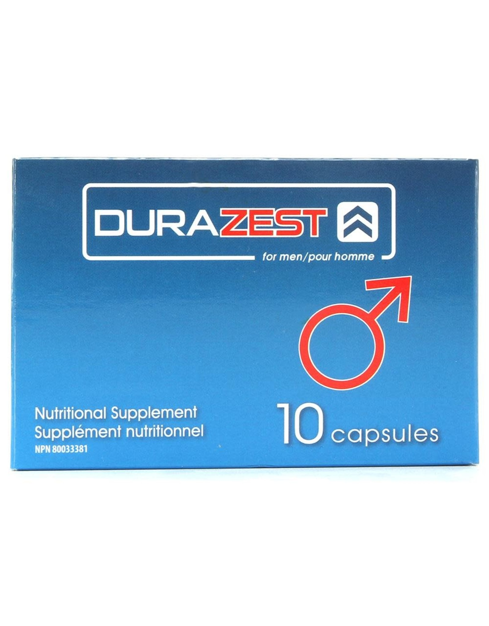 DURAZEST FOR MEN - 10 PACK