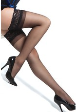 COQUETTE COQUETTE - SHEER THIGH HIGH - BLACK - ONE SIZE