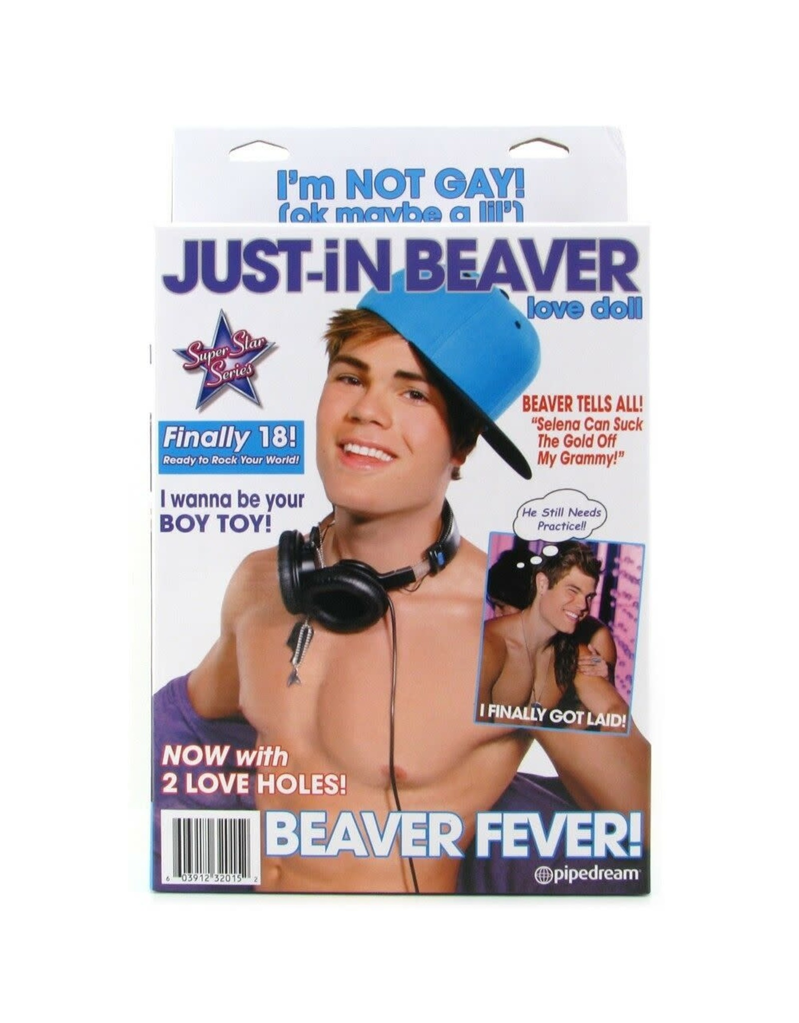JUST-IN BEAVER DOLL