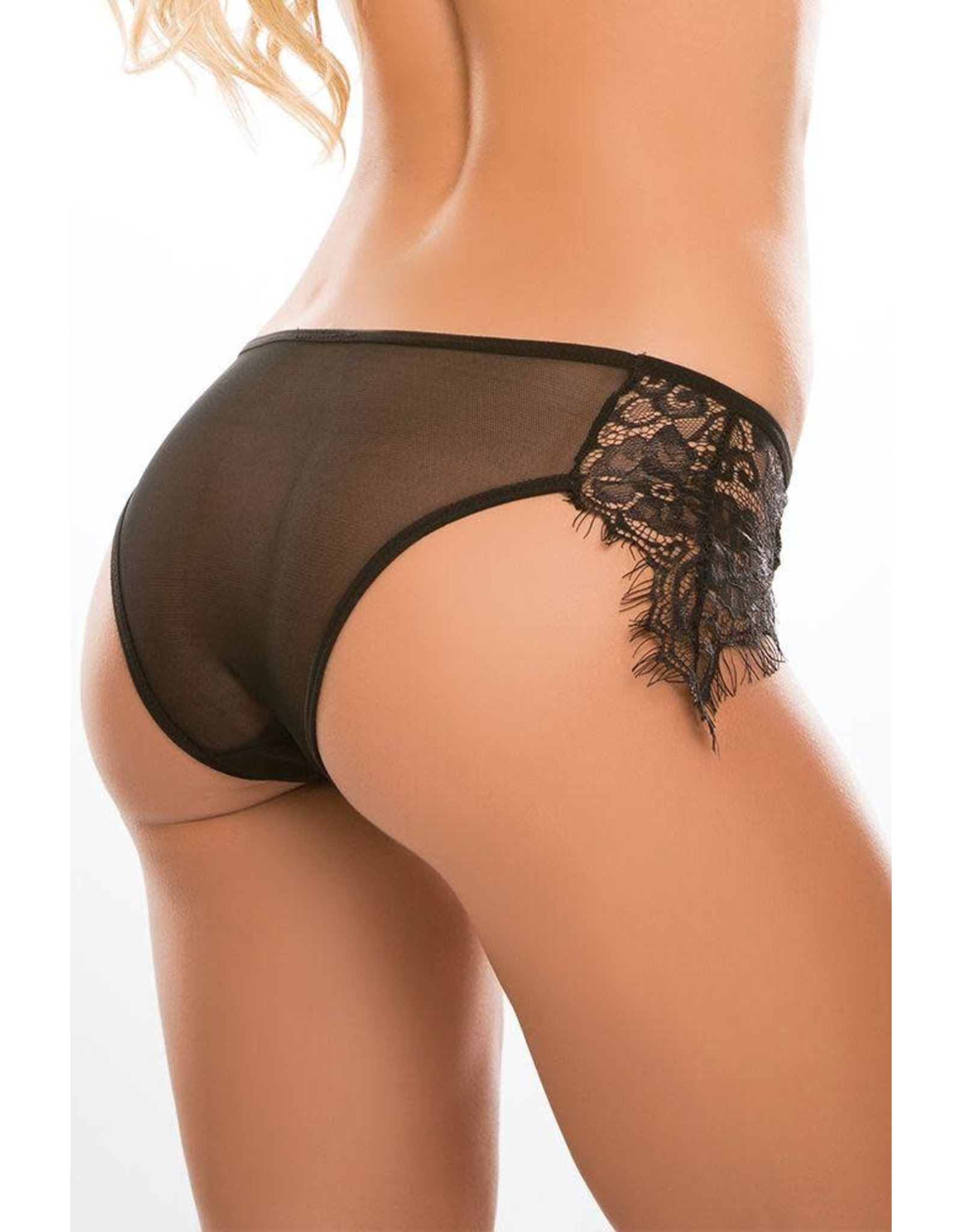 ADORE - LAVISH & LACE - BLACK - ONE SIZE