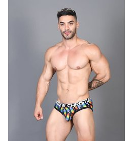ANDREW CHRISTIAN - POPSICLE PRIDE BRIEF W/ ALMOST NAKED MEDIUM
