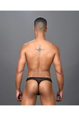 ANDREW CHRISTIAN - AROUSE SHEER RING THONG SMALL