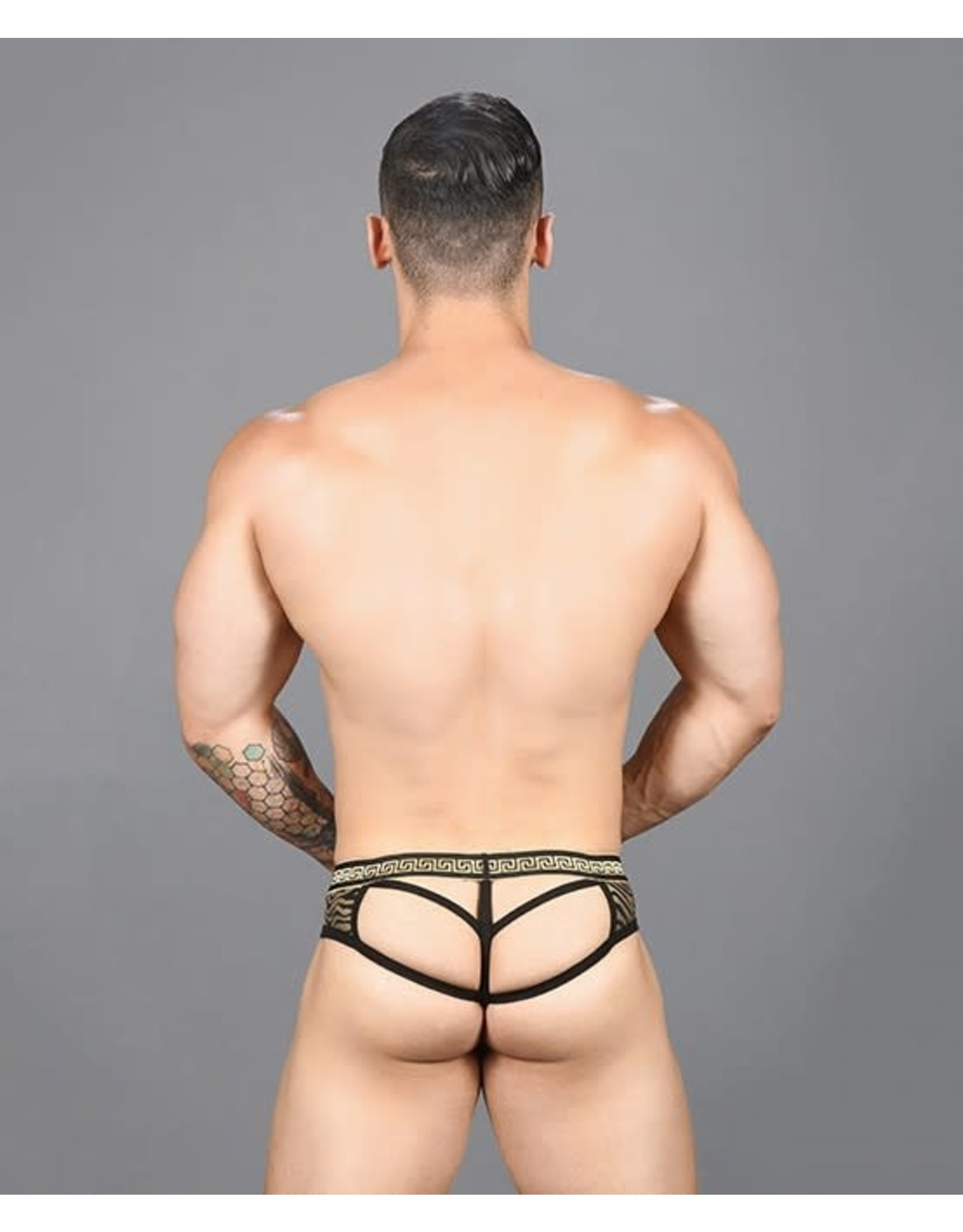 ANDREW CHRISTIAN ANDREW CHRISTIAN - MASSIVE ANIMAL ATTRACTION - THONG - SMALL