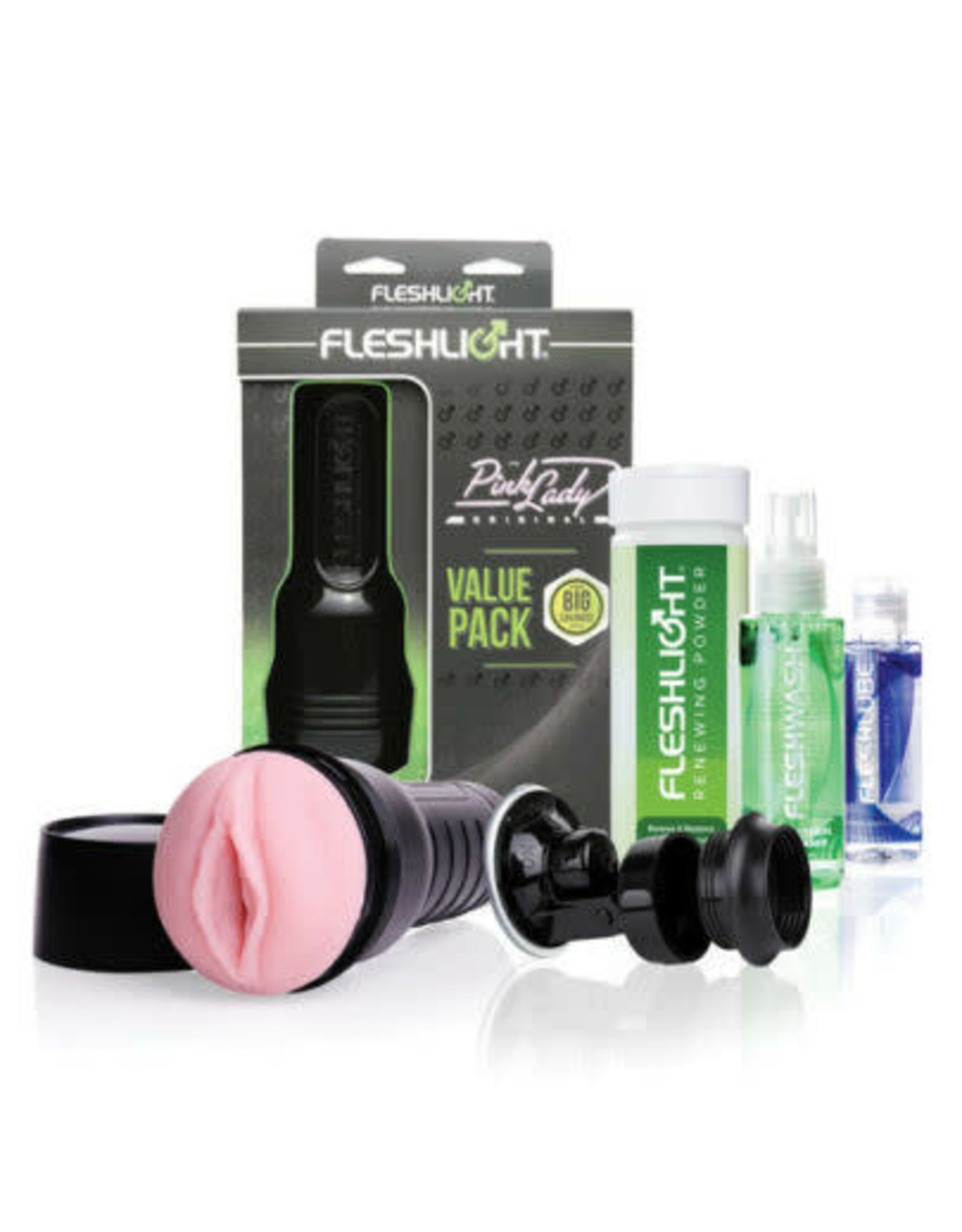 FLESHLIGHT - PINK LADY - VALUE PACK