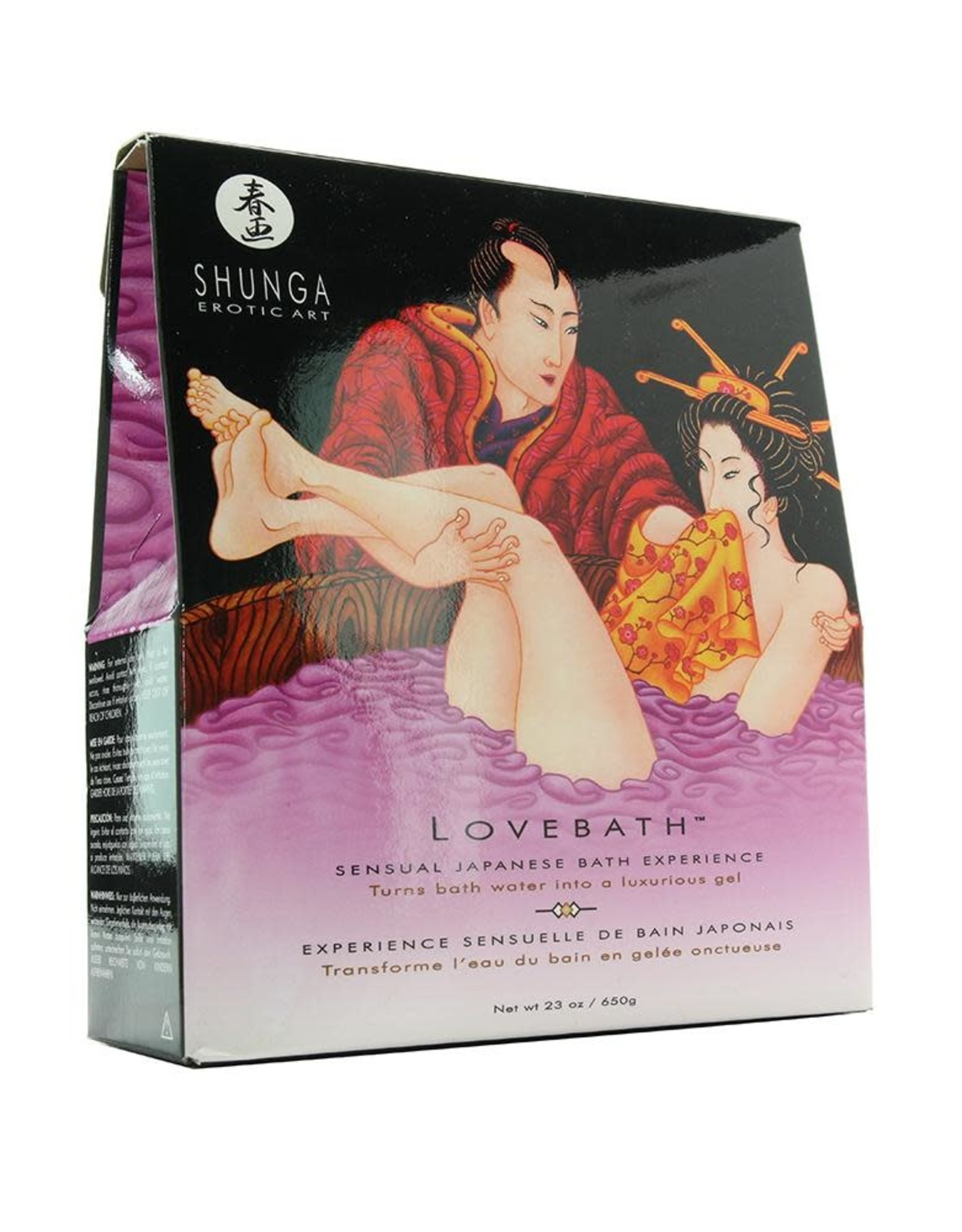SHUNGA - LOVE BATH - SENSUAL LOTUS