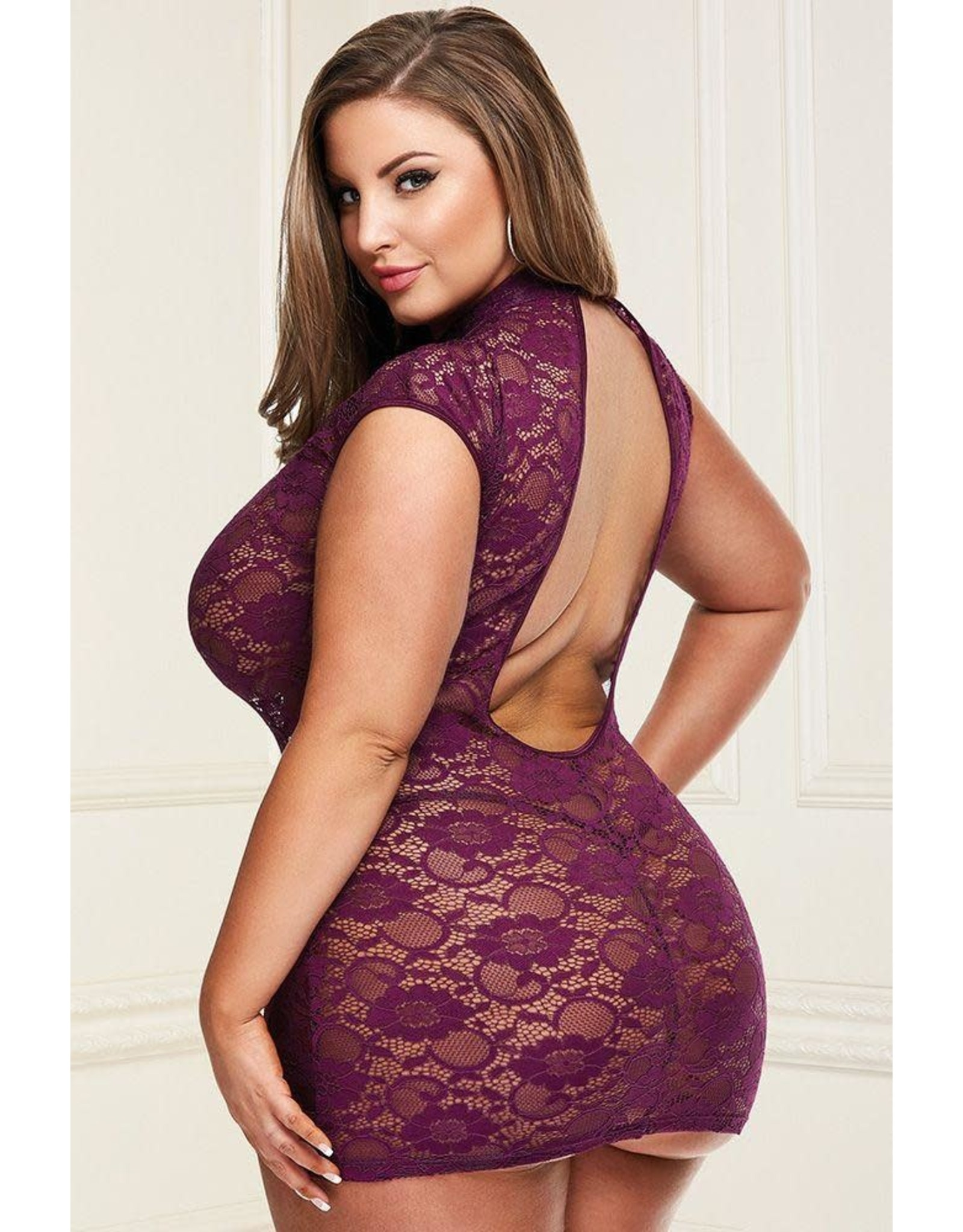 BACI - DRESSED TO THE NINES - PURPLE - QUEEN SIZE